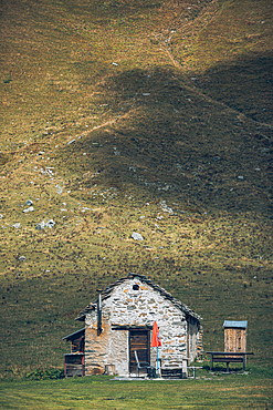 House in the mountains, Switzerland, Ticino,