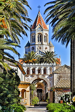 Lerins Abbey, Saint Honorat Island, France