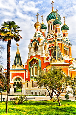 Russian Orthodox Church, Nice, France