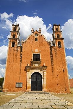 Former Convent de Nuestra Senora de la Asuncion, 16th Century, Route of the Convents, Tecoh, Yucatan, Mexico