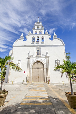 Colonial Church of Santiago Apostol, Merida, Yucatan, Mexico