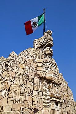 Monument to the Patria (Homeland), sculpted by Romulo Rozo, Merida, Yucatan, Mexico