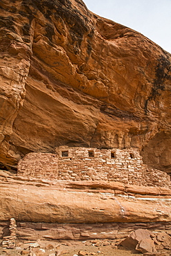Window, Four Windows Ruins, Ancestral pueblo, up to 1000 years old, Lower Fish Creek, Bears Ears National Monument, Utah, United States of America