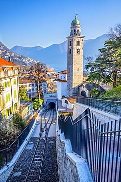 Cathedral of San Lorenzo, Lugano, Ticino, Switzerland