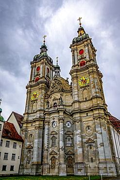 The Abbey Cathedral of Saint Gall, St. Gallen, St. Gallen, Switzerland