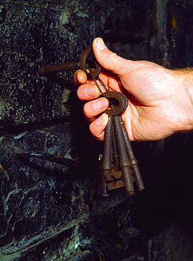 Cell Door In Kilmainham Jail, Ireland