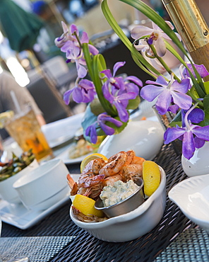 Drinks And Snacks At The Hotel Jerome; Aspen, Colorado, United States Of America