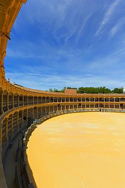 Bull fighting ring; Ronda, Malaga Province, Spain