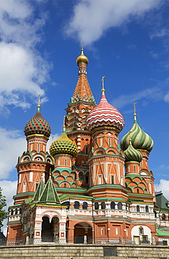 Saint Basil's Cathedral; Moscow, Russia