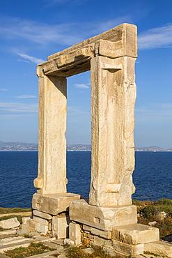 Temple of Apollo (Portara); Chora, Naxos Island, Cyclades, Greece