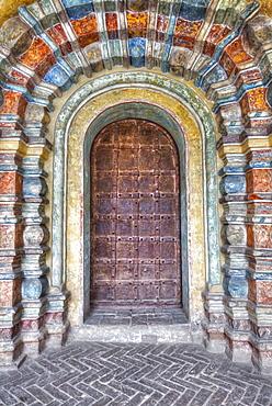 Door, Gate-Church of St John Divine, Kremlin, Golden Ring; Rostov Veliky, Yaroslavl Oblast, Russia