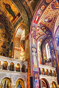 Frescoes, St Johns Forerunners Parish; Athens, Greece