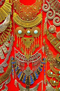 Jewellery for Sale, Khan al-Khalili, Bazaar; Cairo, Egypt