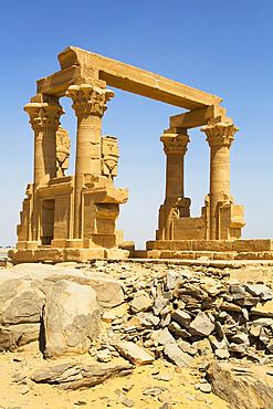 Kiosk of Qertassi, Kalabsha, UNESCO World Heritage Site, near Aswan; Egypt
