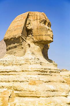 The Great Sphinx of Giza, UNESCO World Heritage Site; Giza, Egypt
