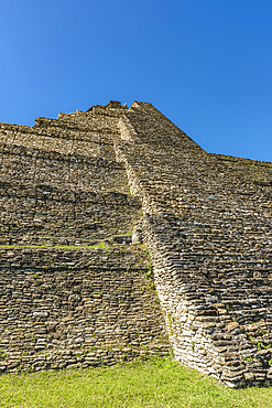 Tonina, pre-Columbian archaeological site and ruined city of the Maya civilization; Chiapas, Mexico