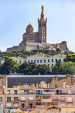 Notre-Dame de la Garde; Marseilles, France