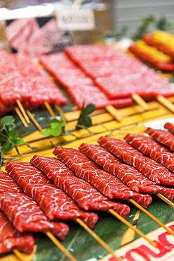 Wagyu Beef at the market; Tokyo, Kanto, Japan