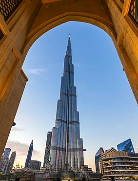 Burj Khalifa; Dubai, United Arab Emirates