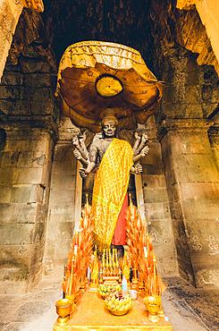 Shrine at Angkor Wat Temple; Siem Reap, Siem Reap, Cambodia