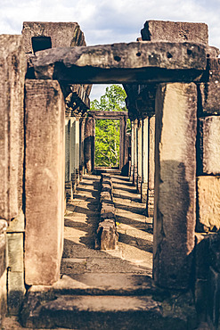 Baphuon Temple in the Angkor Wat complex; Siem Reap, Cambodia