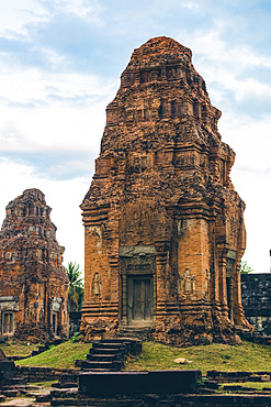 Bakong Temple in the Angkor Wat complex; Siem Reap, Cambodia
