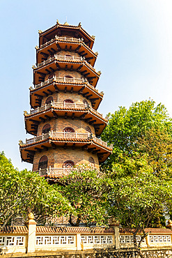 Pagoda; Hue, Thua Thien-Hue Province, Vietnam