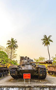 US Army truck at the Hue war Museum; Hue, Thua Thien-Hue Province, Vietnam