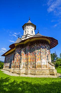 Moldovita Monastery, 1532; Vatra Moldovitei, Suceava County, Romania