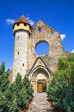 Ruins, Cistercian Monastery, founded in 1202; Carta, Sibiu County, Transylvania Region, Romania