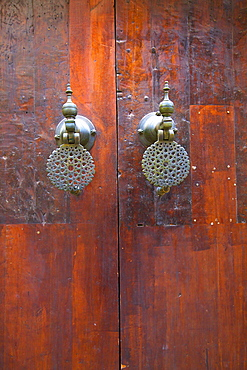 Door, Fez, Morocco, North Africa, Africa