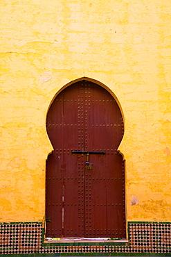 Gate to Medina, Meknes, Morocco, North Africa, Africa