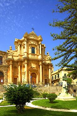 The Church of San Domenico, Noto, Sicily, Italy, Europe