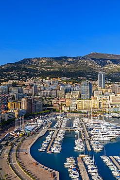 Port Hercules Harbour, Monte Carlo, Monaco, Mediterranean, Europe