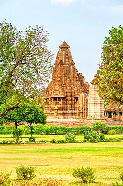 Visvanatha temple, Khajuraho Group of Monuments, UNESCO World Heritage Site, Madhya Pradesh state, India, Asia