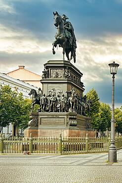 Frederick the Great equestrian statue, Unter den Linden, Berlin, Germany
