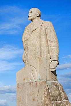 Lenin Statue, Siberian City of Anadyr, Chukotka Province, Russian Far East, Russia, Eurasia