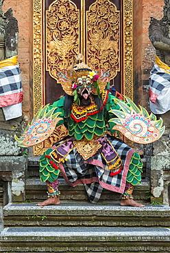 Balinese Kecak dancer, Ubud, Bali, Indonesia, Southeast Asia, Asia