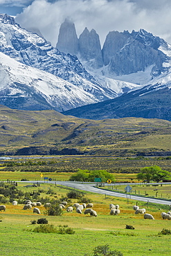 The Three Towers, Torres del Paine National Park, Chilean Patagonia, Chile, South America