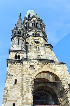 Kaiser Wilhelm Gedaechtnis Church, Charlottenburg, Berlin, Brandenburg, Germany, Europe