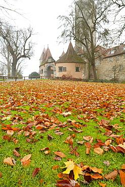 Castle Gate, Rothenburg ob der Tauber, Bavaria, Germany, Europe