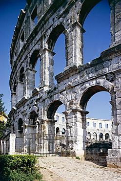 Roman amphitheatre, Pula, Croatia, Europe