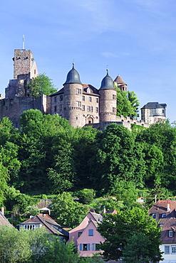 Wertheim Castle, Wertheim, Main Tauber District, Baden Wurttemberg, Germany, Europe