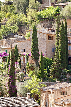 Deia, Sierra de Tramuntana, North Coast, Majorca (Mallorca), Balearic Islands, Spain, Mediterranean, Europe