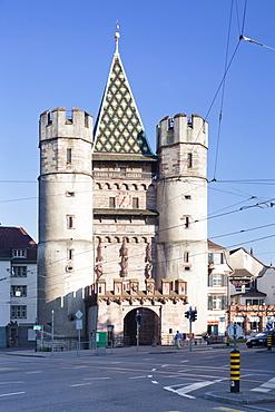 Spalentor Gate, Basel, Canton Basel Stadt, Switzerland, Europe