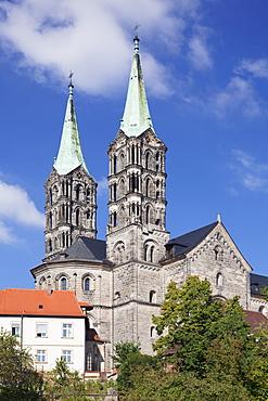 Cathedral, UNESCO World Heritage Site, Bamberg, Franconia, Bavaria, Germany, Europe