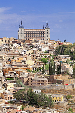 Alcazar, UNESCO World Heritage Site, Toledo, Castilla-La Mancha, Spain, Europe