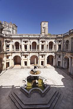 Convento de Cristi (Convent of Christ) Monastery, UNESCO World Heritage Site, Tomar, Santarem District, Portugal, Europe