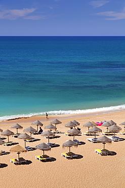 Praia do Castelo beach, Atlantic Ocean, Albufeira, Algarve, Portugal, Europe