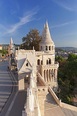 Fisherman's Bastion, Buda Castle Hill, Budapest, Hungary, Europe